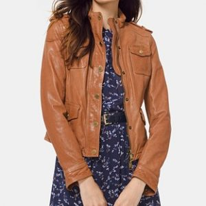 Leather Women Jacket